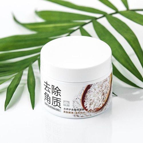 لایه بردار و تنظیم چربی پوست صورت دارای دانه ای اسکراب برنج طبیعی مناسب استفاده خانم ها و آقایان روشن کننده ، مرطوب کننده تهیه شده از عصاره برنج